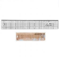 TH92481 Tim Holtz® Idea-ology™ Design Transparent Ruler 12 inch